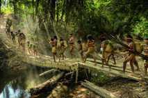 isolierte Völker Amazonas