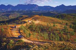 Bunyeroo Valley, Ikara Flinders Ranges Nationalpark. Der Nationalpark bildet das Herzstück der rund 400 km langen ...