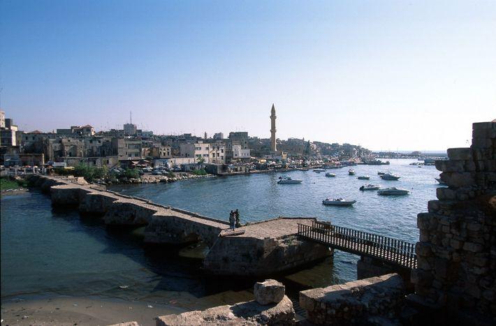 Hafenstadt Sidon