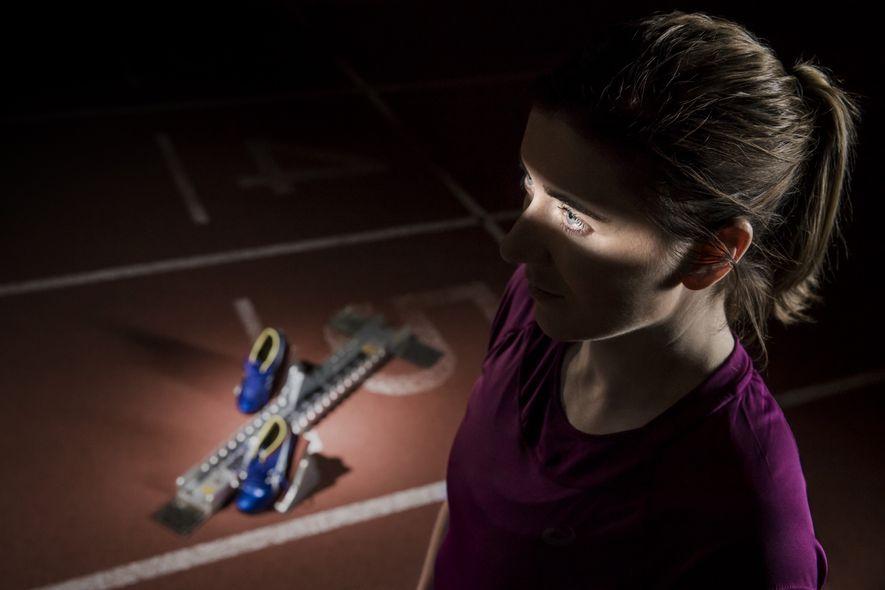 Die britische Paralympics-Goldmedaillengewinnerin Libby Clegg leidet unter Morbus Stargardt, einer degenerativen Augenerkrankung. Der Sportfotograf Samo Vidic ...