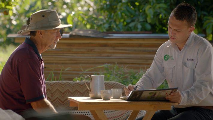 Ein Kaffeefarmer in Costa Rica auf dem Weg zu kompletter Nachhaltigkeit
