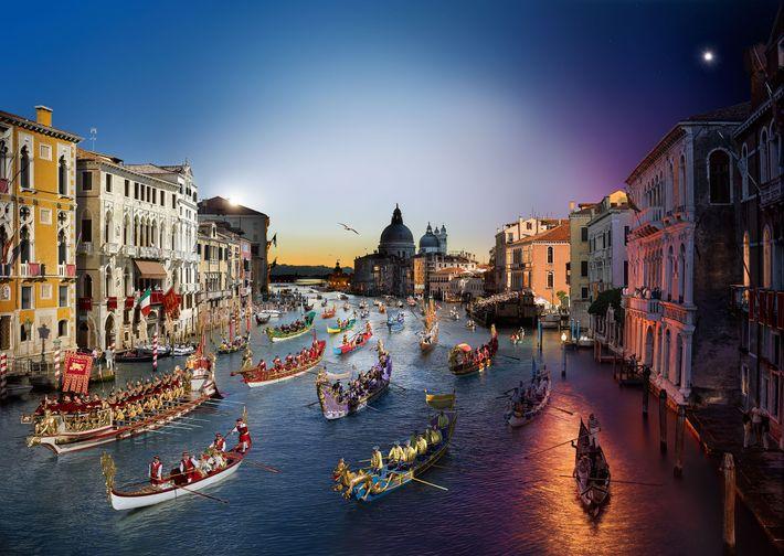 Regata storica, Venedig