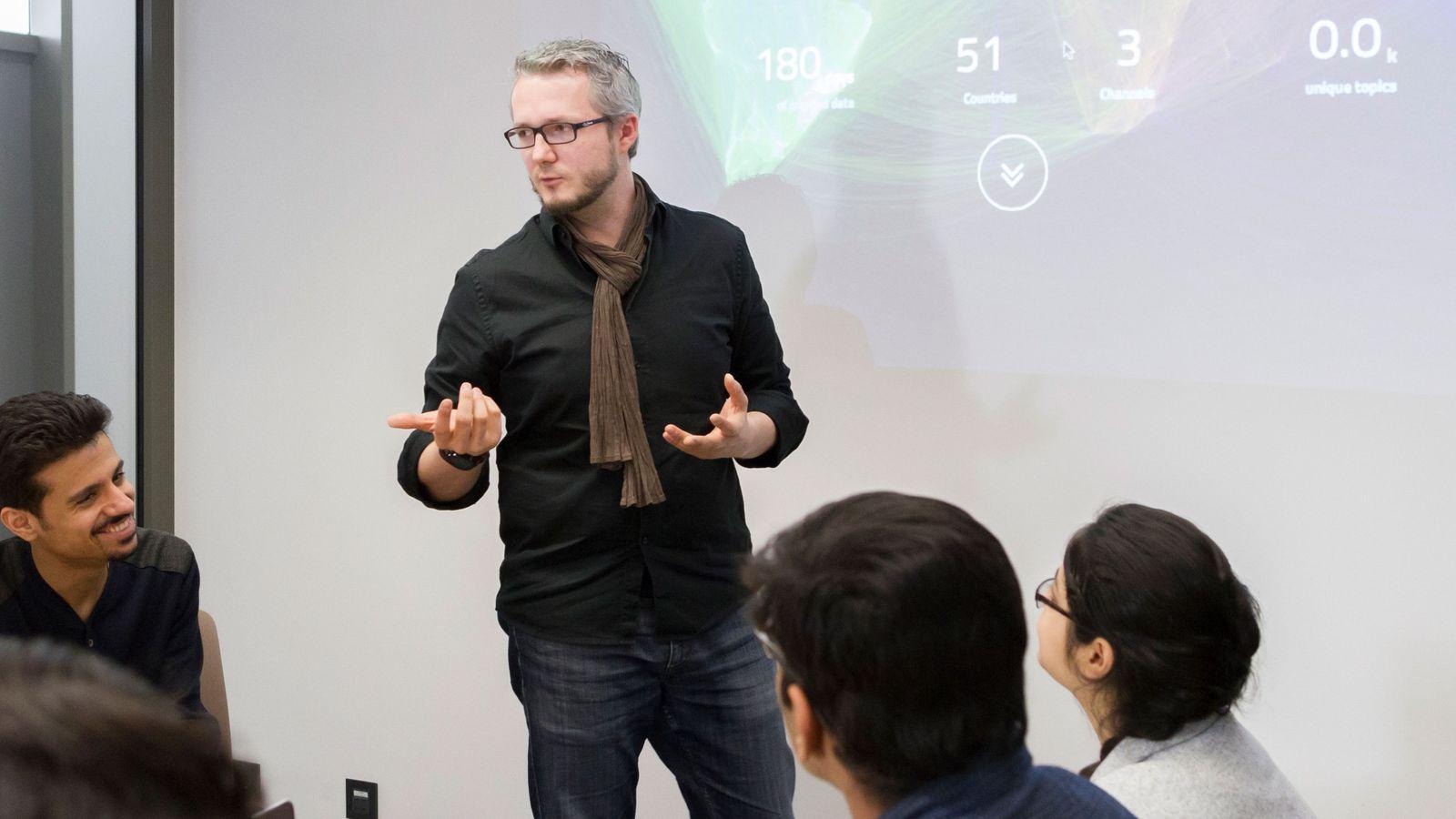 Damian Borth vom Deutschen Forschungszentrum für Künstliche Intelligenz
