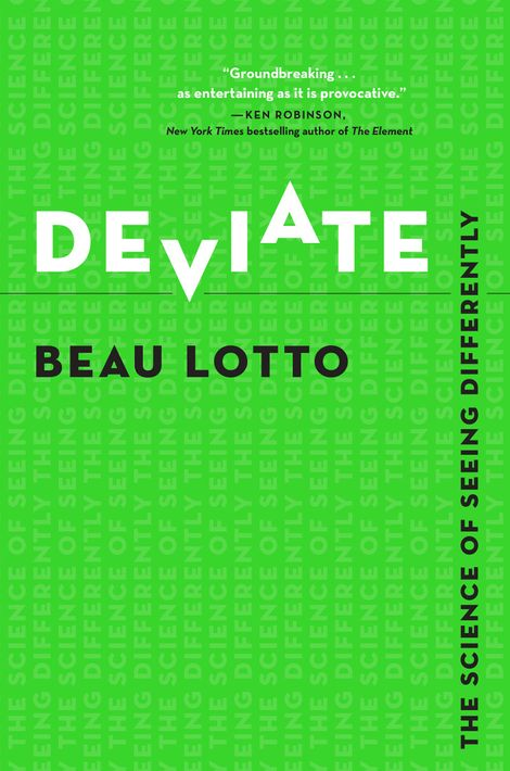 """Cover des Buches """"Deviate: The Science of Seeing Differently"""""""