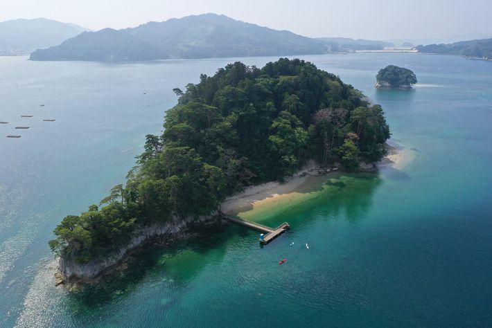 Die Insel Orandajima.