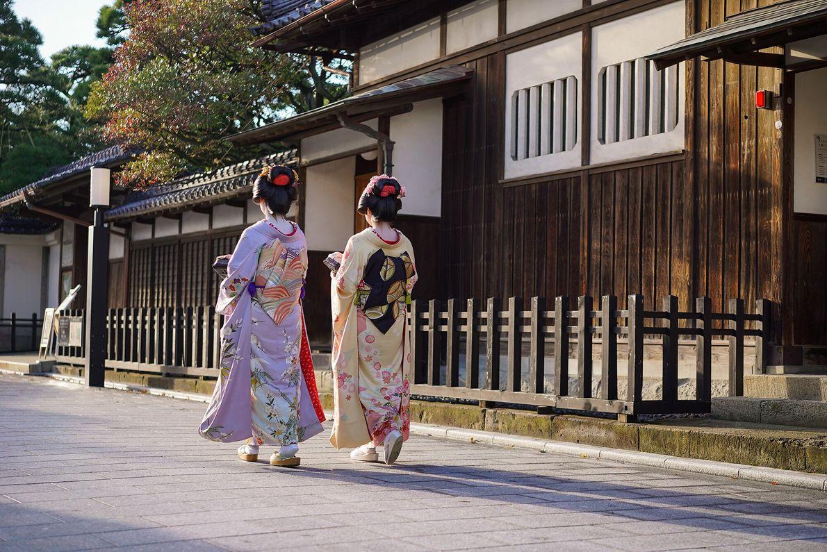 Die Niigata Furumachi Geigi (Geisha)