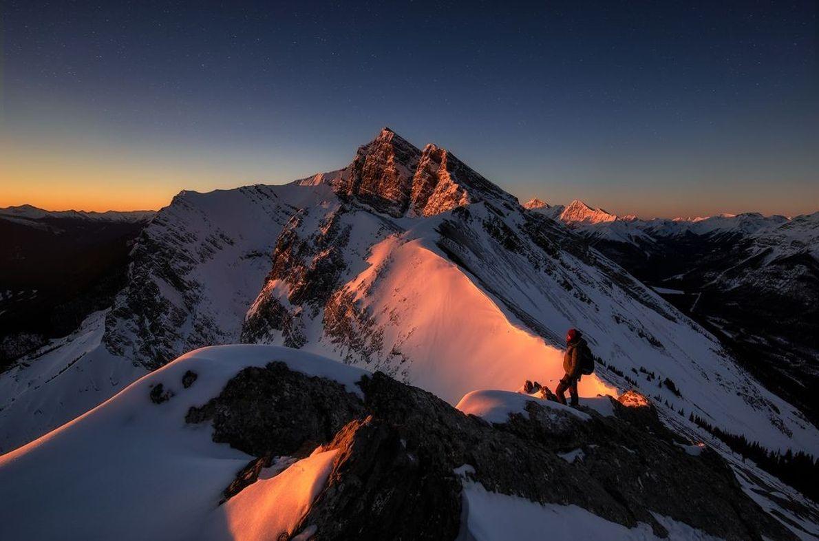 Gipfel des Ha Ling Peak
