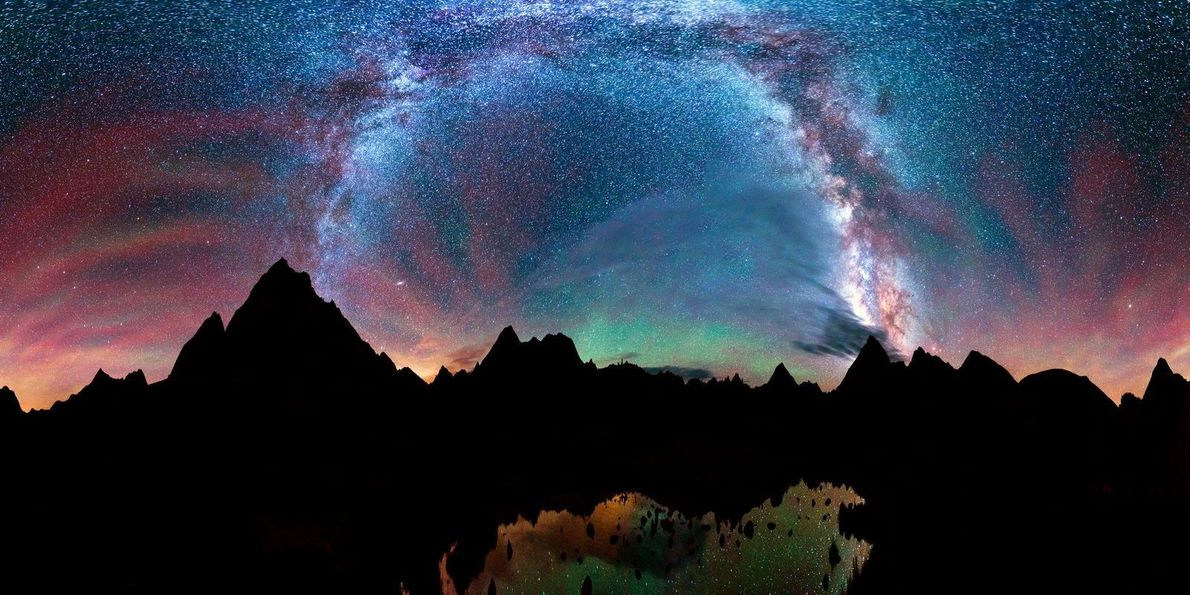 Nachthimmel über Colorado