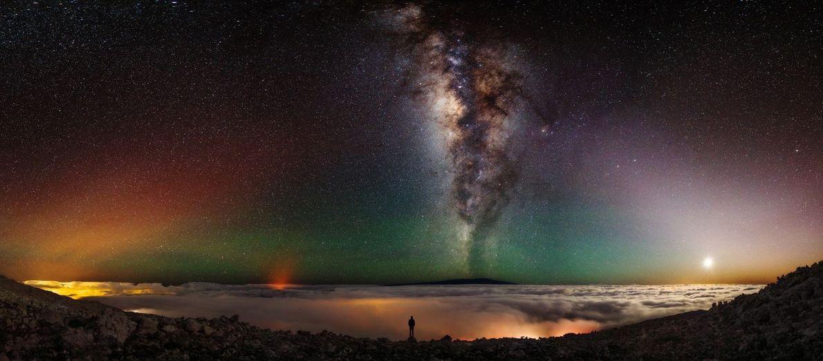 Nachthimmel in Namibia
