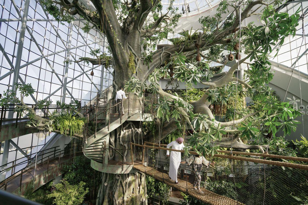 Green Planet, Regenwaldhalle in Dubai