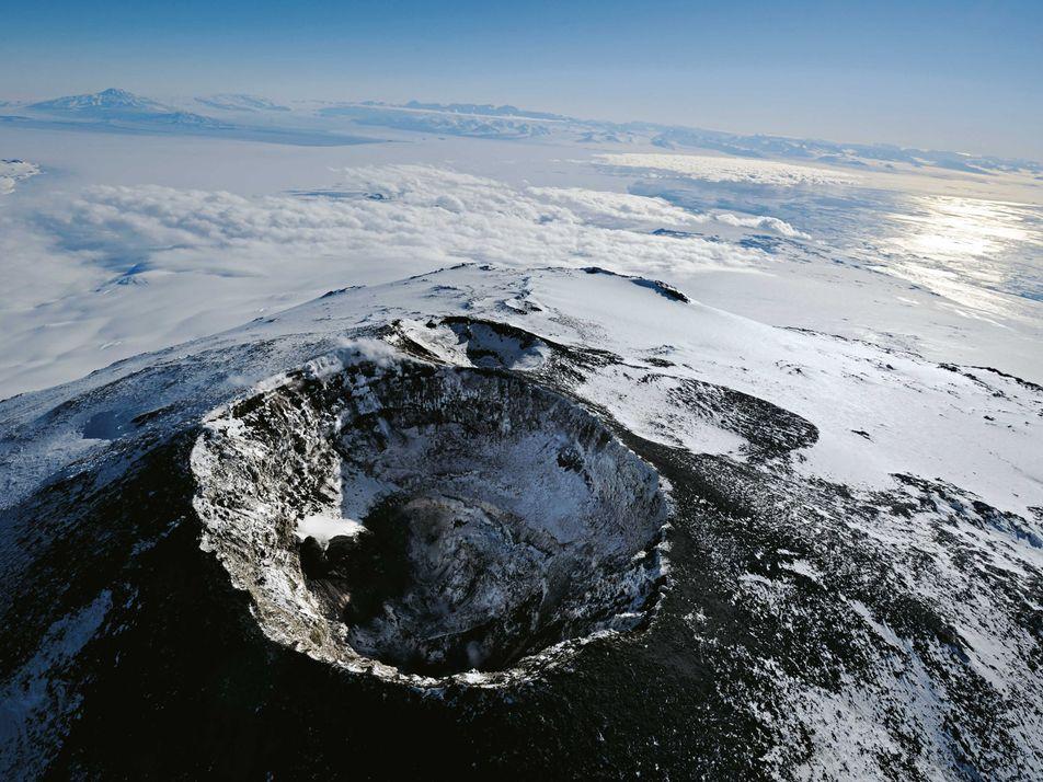 Galerie: Expedition am Mount Erebus