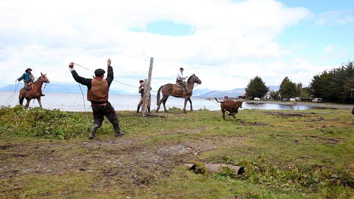 Gauchos in Patagonien