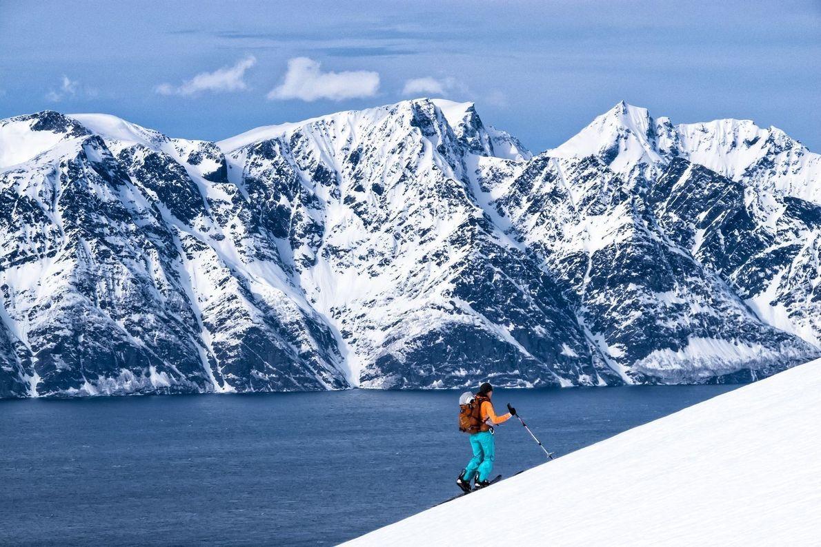 Flitterwochen in Norwegen | Nach einer Hochzeit im Dezember entschied sich ein Paar, seine Flitterwochen im ...