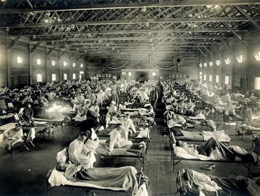 Die schnelle, tödliche Geschichte der Spanischen Grippe