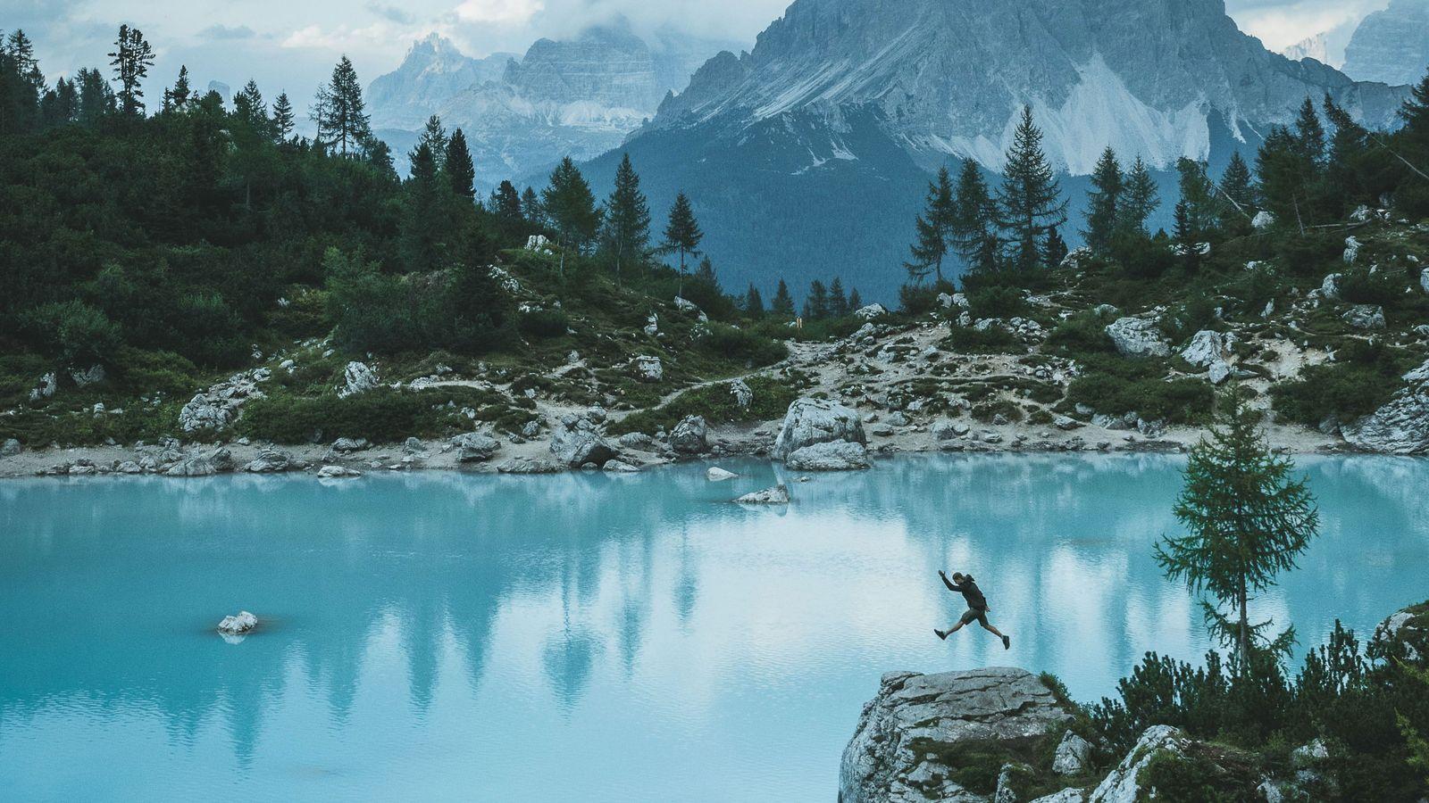 Lago di Sorapis in Südtirol