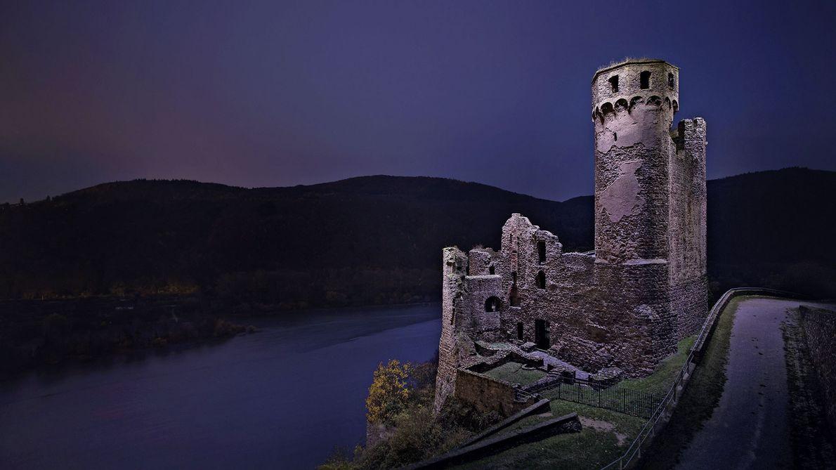Fotowettbewerb, 3. Platz: Nacht über dem Rhein