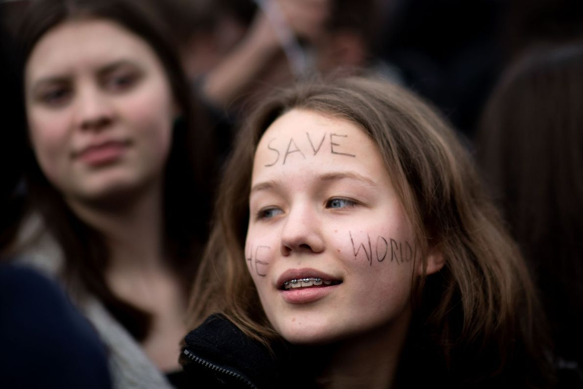 FridaysForFuture Climate Protest