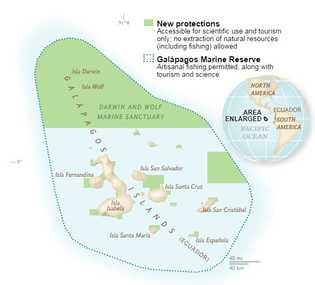 Galapagos Karte