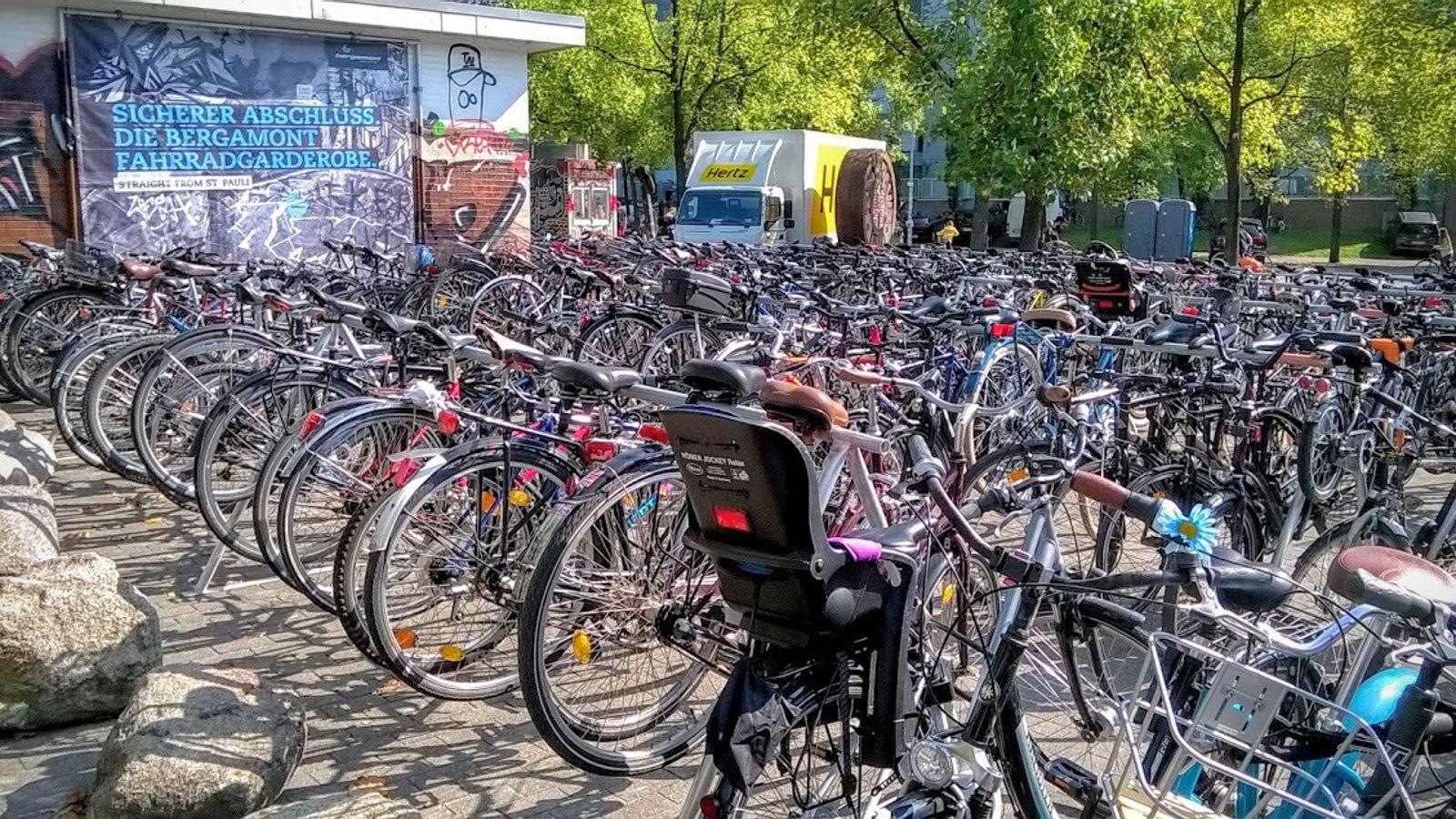 Fahrradgarderobe