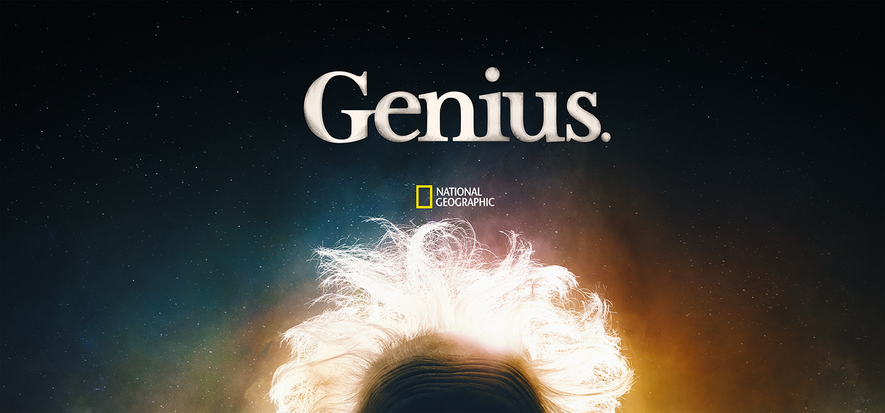 "Albert Einstein in der National Geographic-Serie ""Genius"""