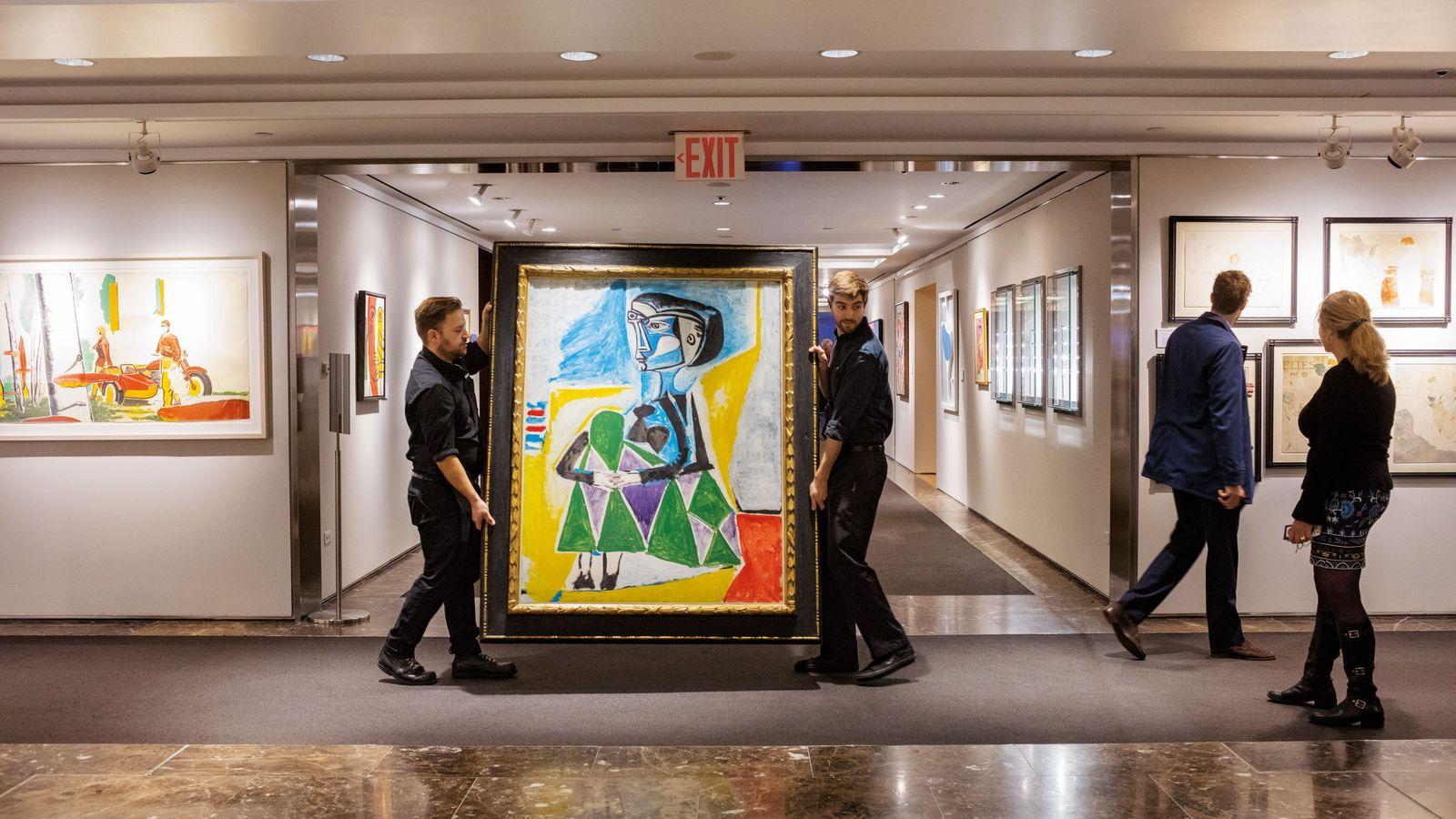 Picasso Bild Jacqueline Roque