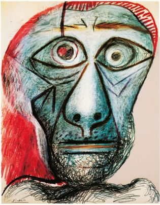 Selbstbildnis Picasso