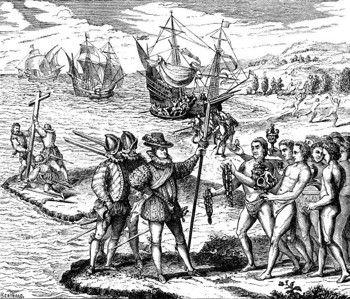 Spanische Eroberer