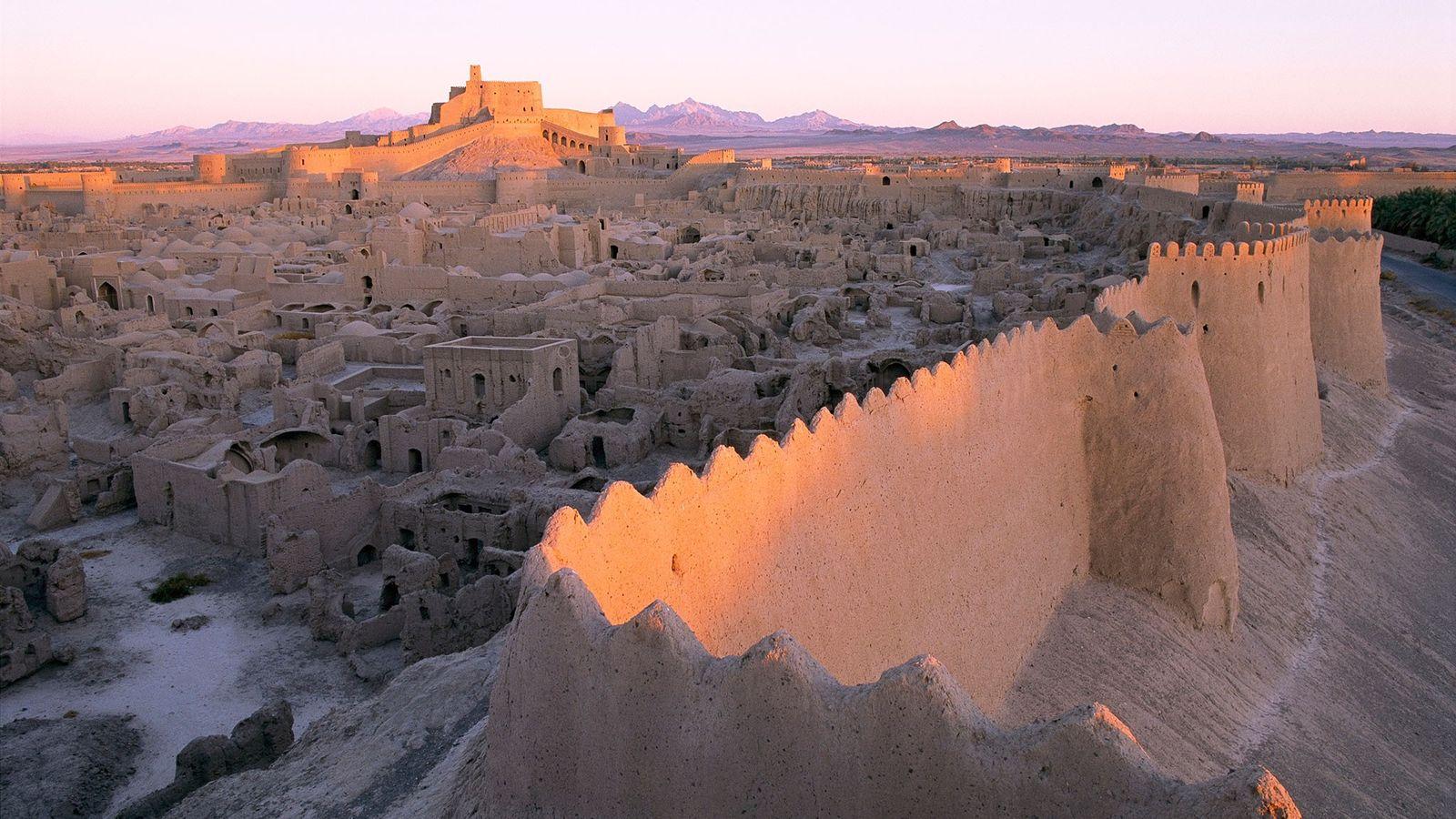 Lehmmauern von Arg-e Bam