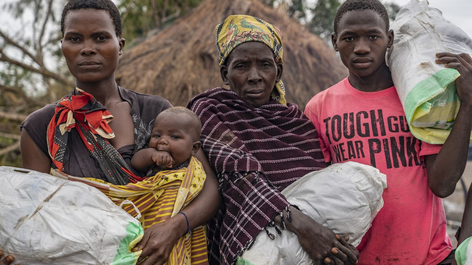 Gorongosa Lebensmittelhilfe