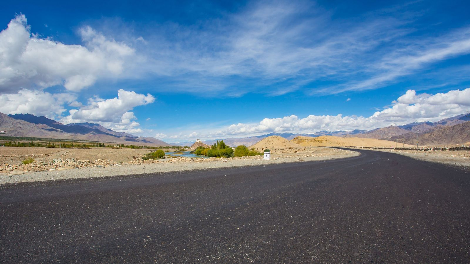 Straße im Himalaya