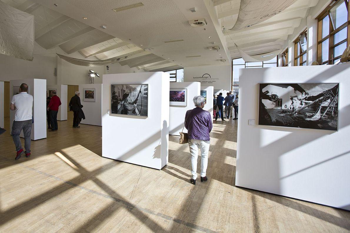Ausstellung »One World – Bildbeiträge zu einem Jubiläum«; Fotografen: Herlinde Koelbl; Walter Scheels; Michael Philipp Bader; ...