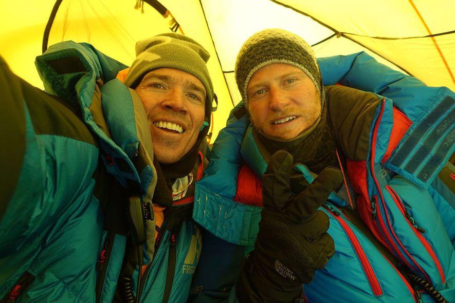 Adrian Ballinger und Cory Richards