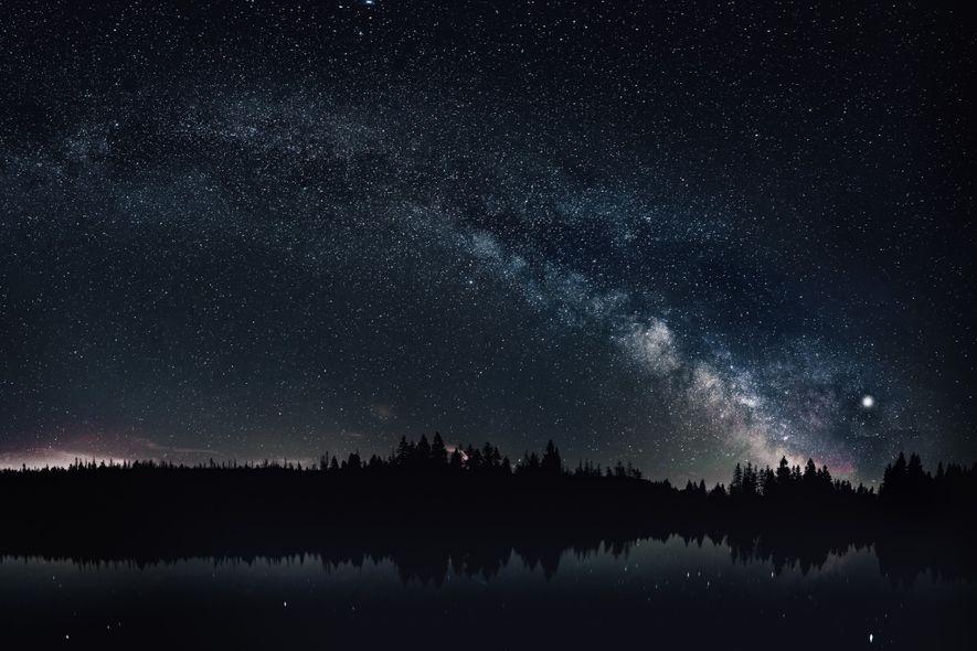 In Deutschland ist es nirgends so dunkel wie im Harz – ideale Voraussetzungen, um die Milchstraße in all ihrer Pracht zu sehen.
