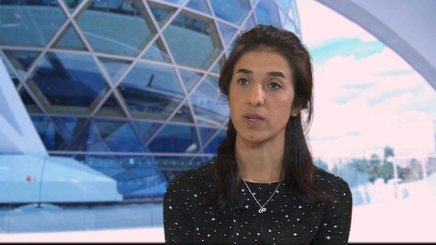 Vom IS zu den Vereinten Nationen: Die Reise von Nadia Murad