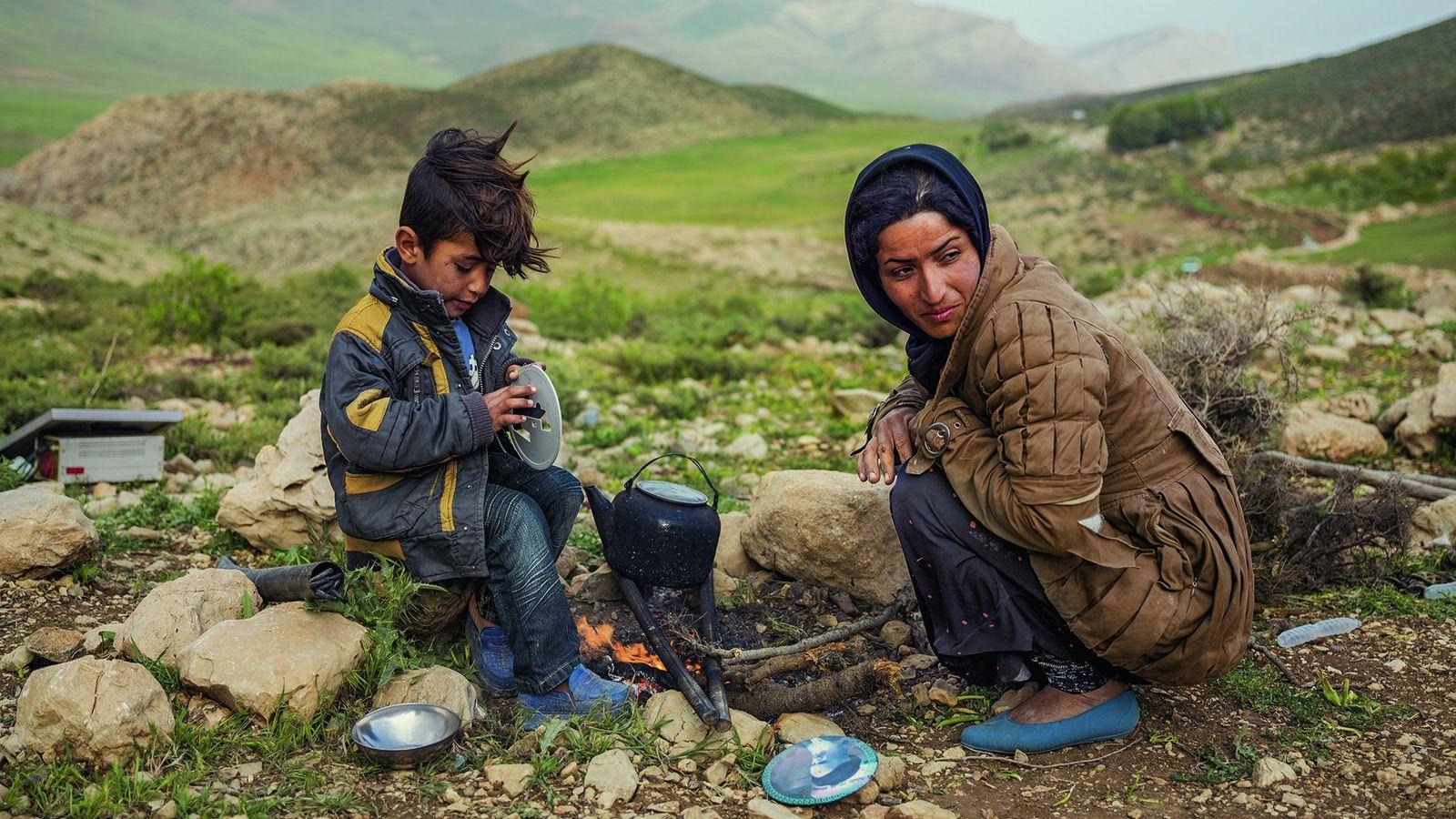 Nomaden im Iran