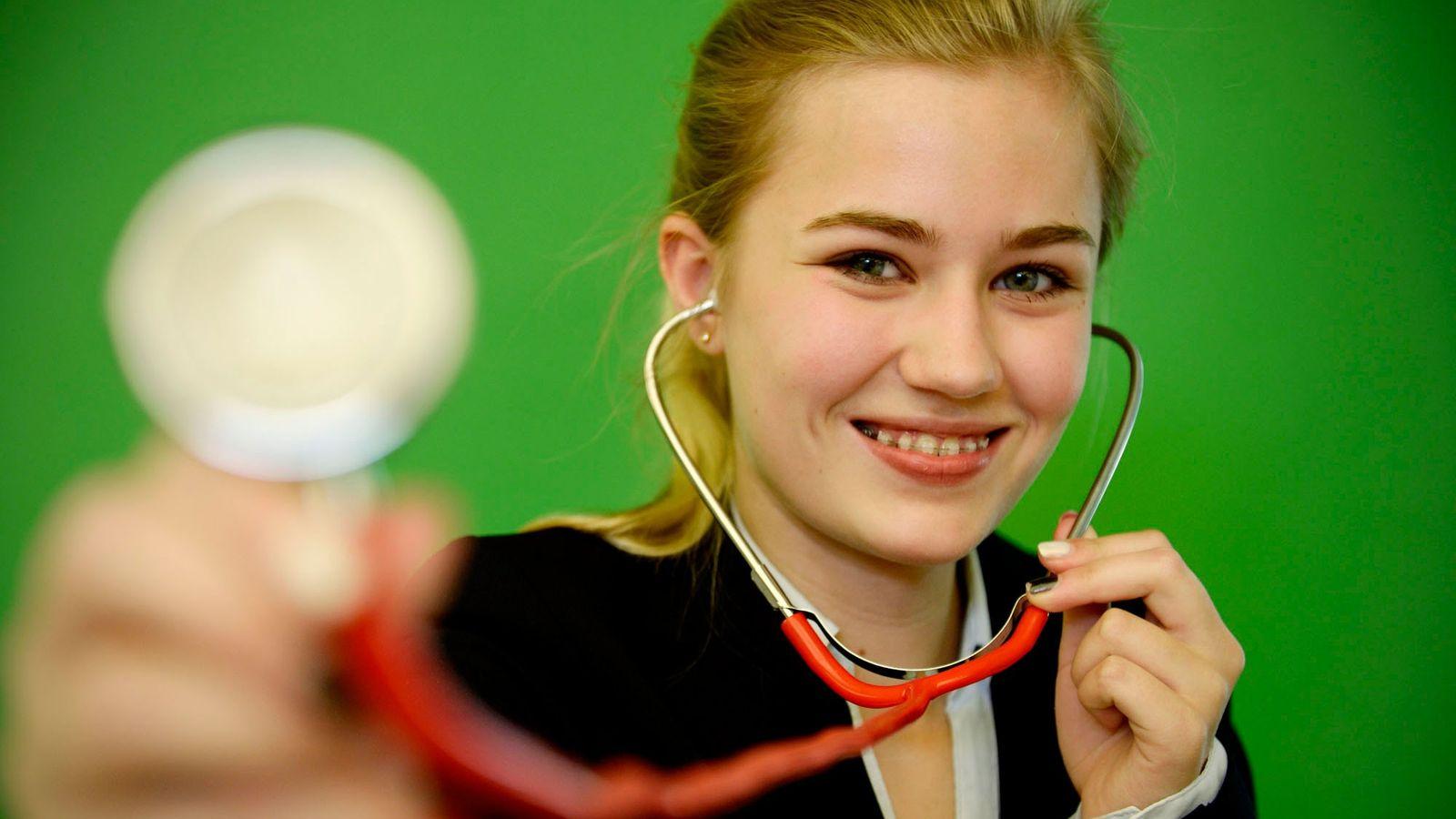 Rieke-Marie Hackbarth bei Jugend forscht