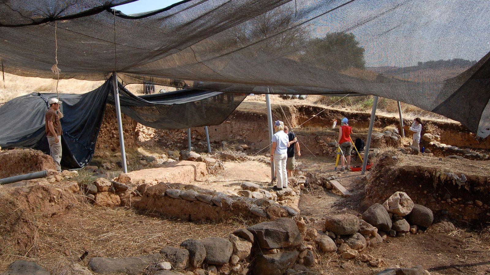 Grabungsprojekte in Kinneret