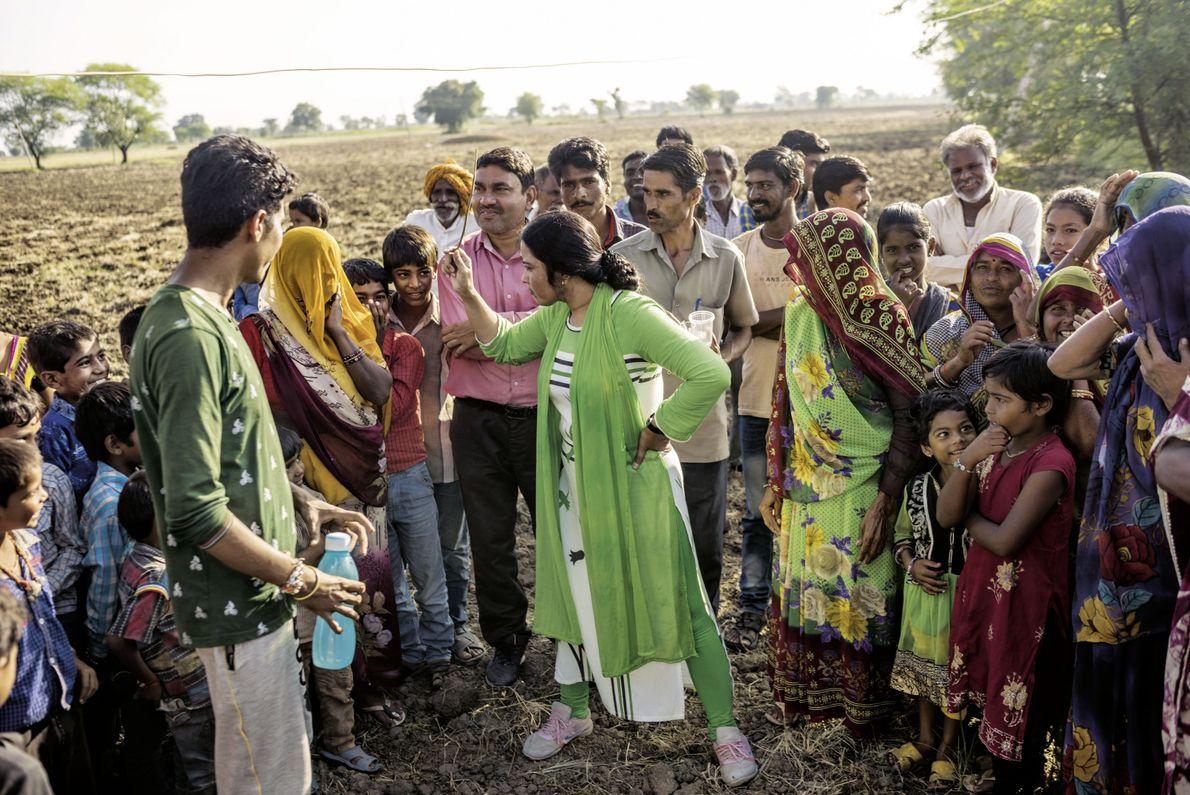 Aufklärung über Toiletten in Indien
