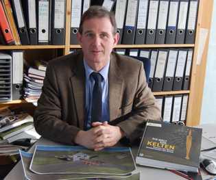 Landesarchäologe Dirk Krausse