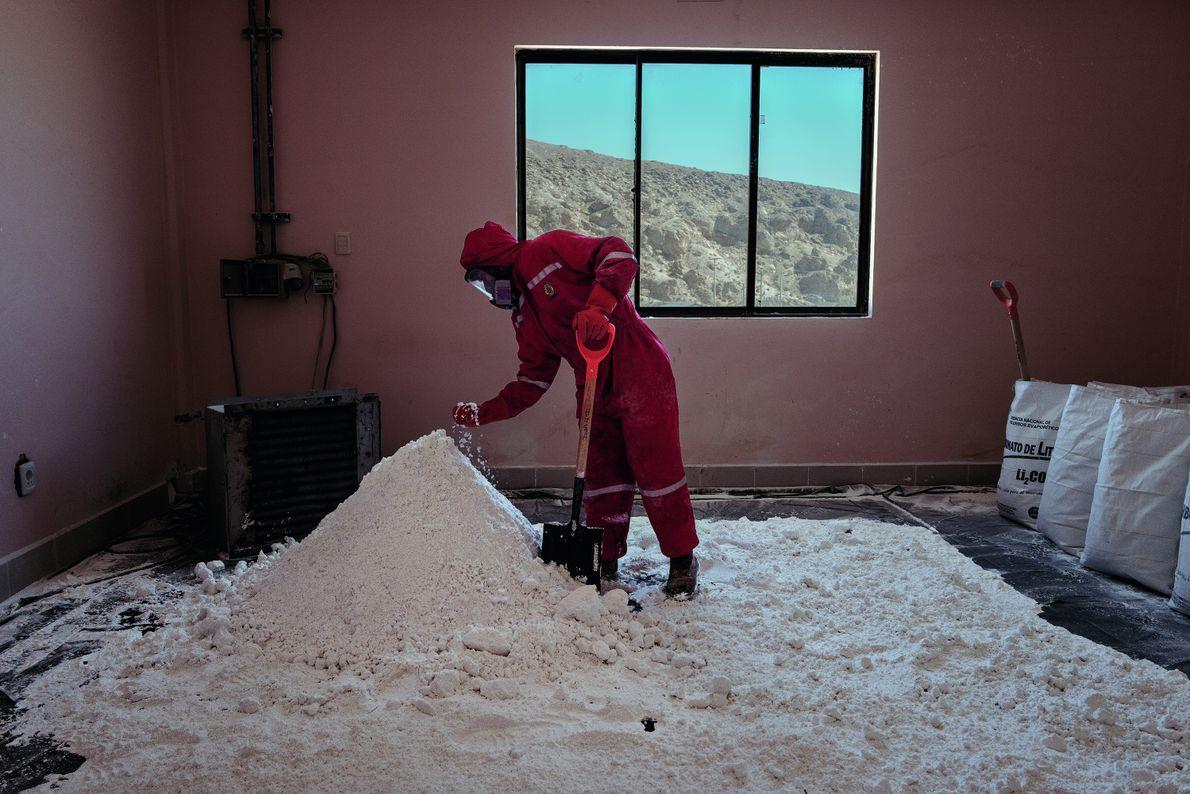 Lithium, Bolivien