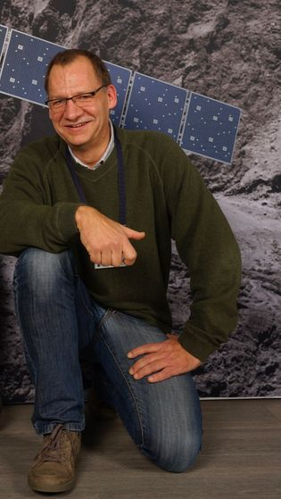 """ESA-Projektwissenschaftler Johannes Benkhoff freut sich auf die Mission zum Merkur: """"Wir versprechen uns Aufnahmen von enormer ..."""