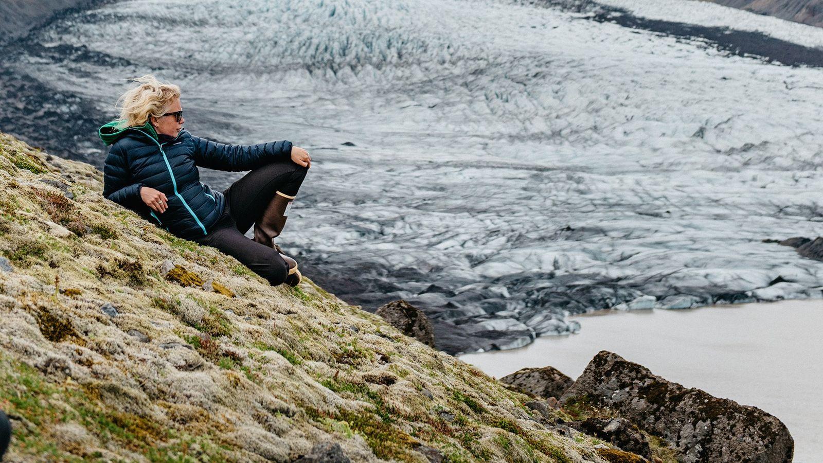 Die Glaziologin und Geografin M Jackson ist als National Geographic Emerging Explorer ausgezeichnet.