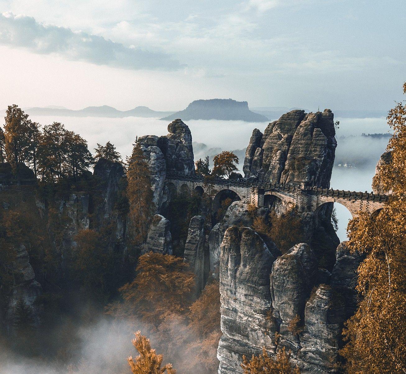 Wildnis vor der Haustür: Im Nebelmeer der Sächsischen Schweiz | National Geographic