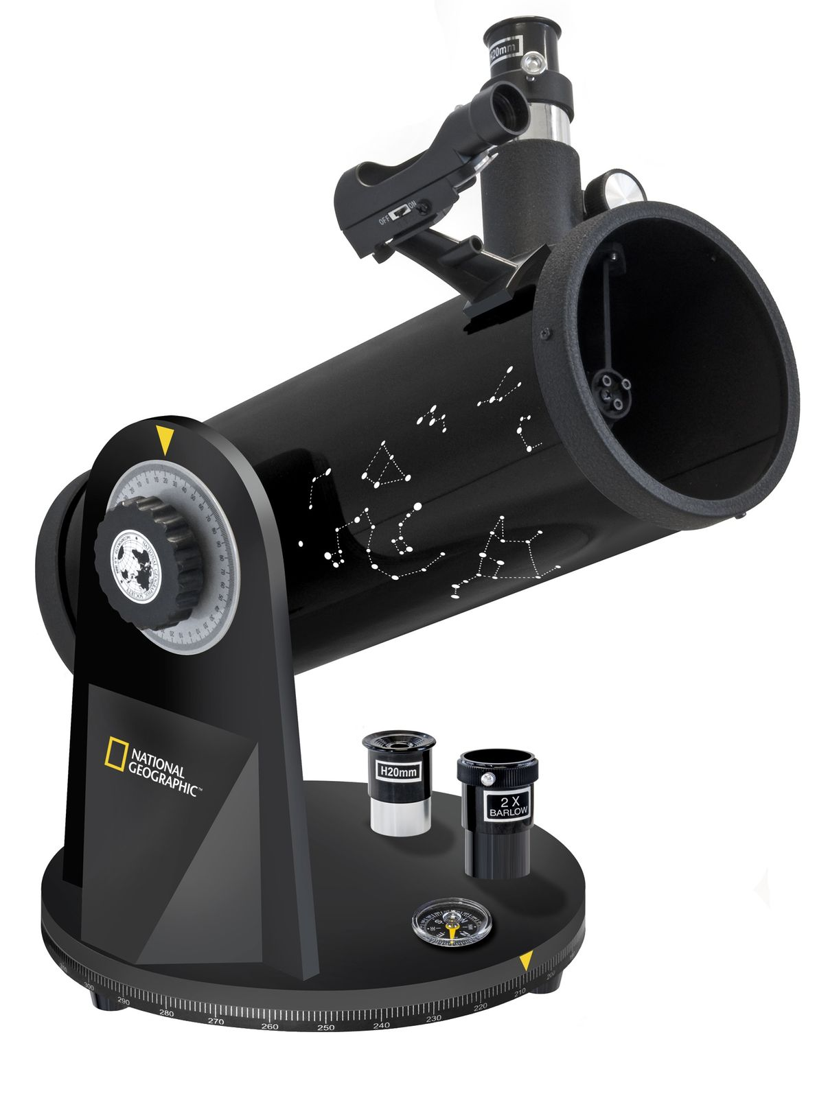 NATIONAL GEOGRAPHIC 114/500 Kompakt Teleskop