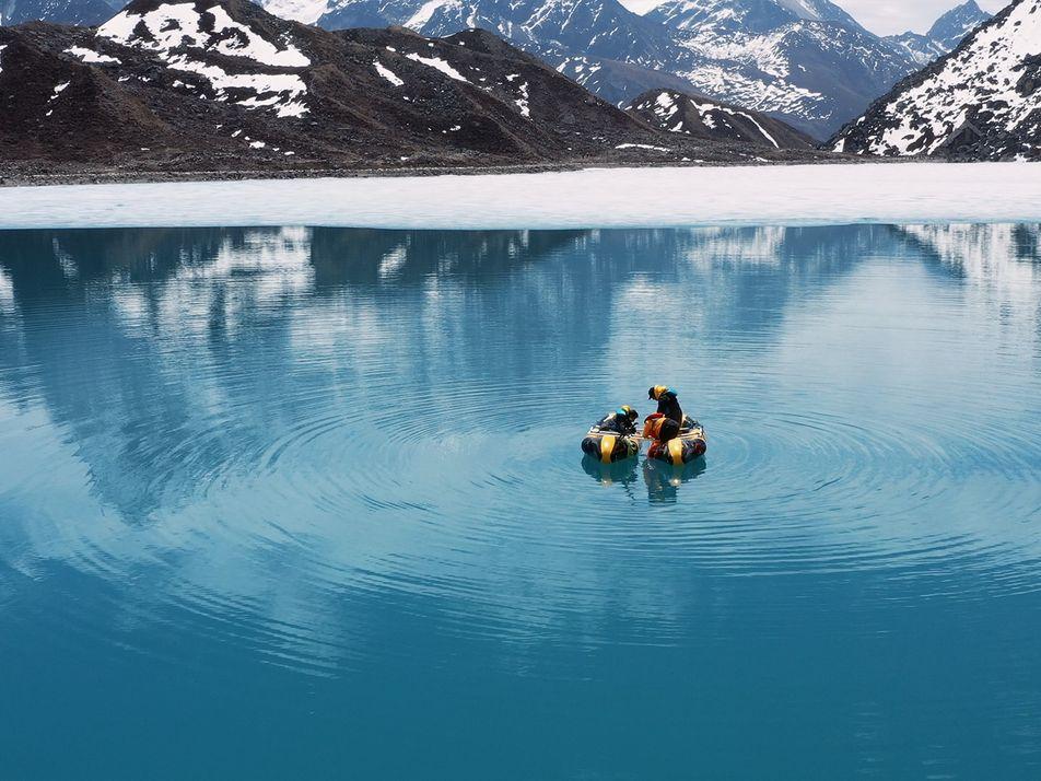 Erdgeschichte im Schlamm eines Gletschersees – und ein Blick in die Zukunft