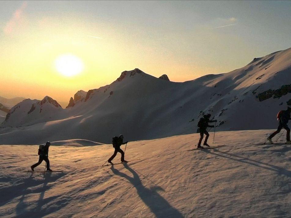 Neuer Weltrekord für Alpendurchquerung