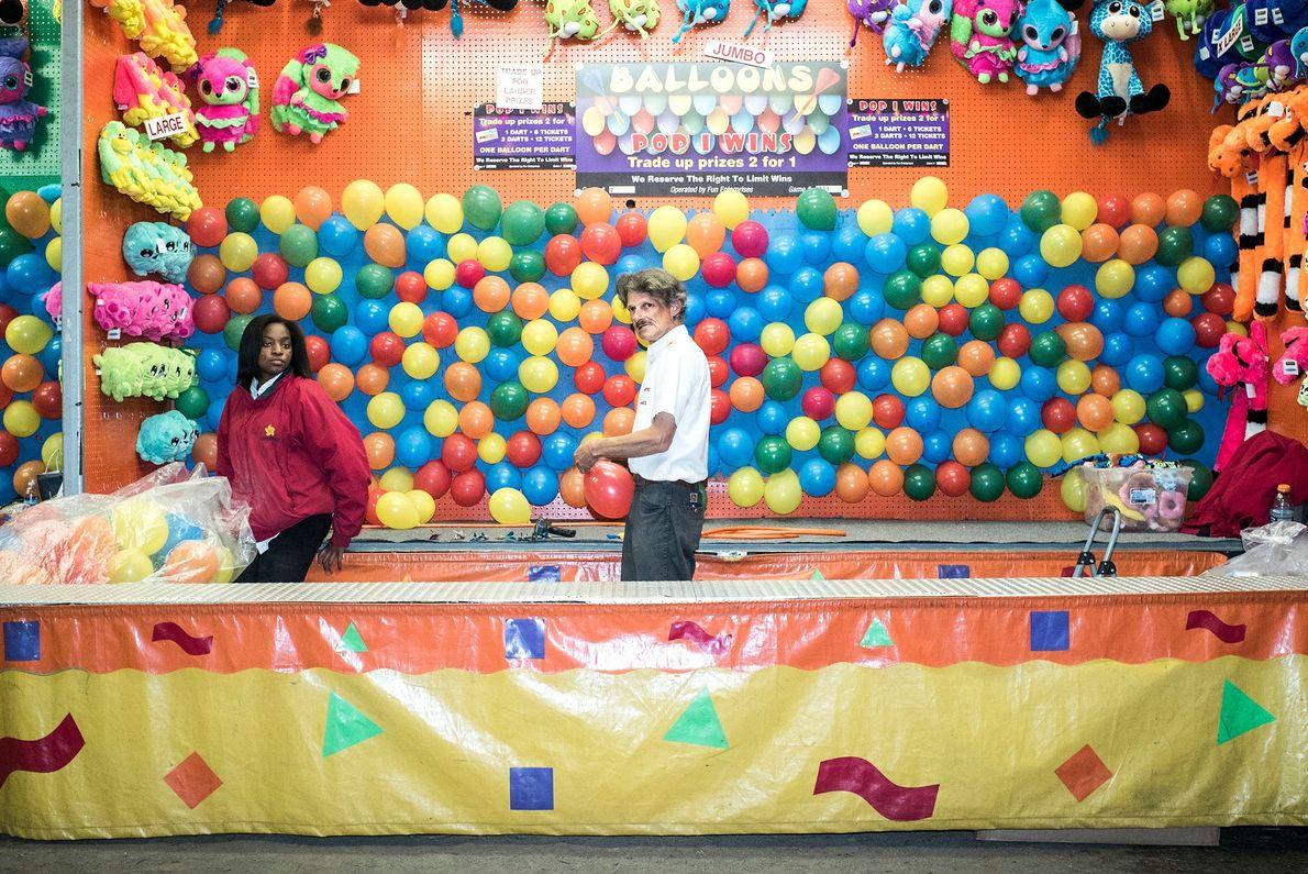 Ballon-Dartspiel
