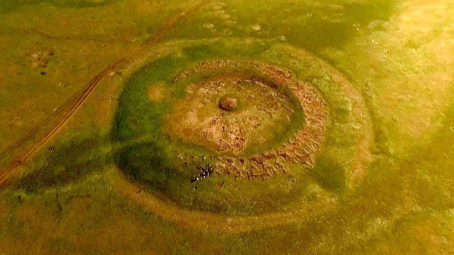 Vor 3.000 Jahren bauten Sonnenanbeter diesen gewaltigen Altar