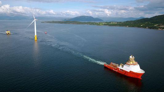 Die erste schwimmende Windanlage der Welt erobert das Meer