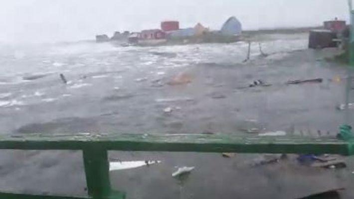 Grönland von tödlicher Tsunami getroffen